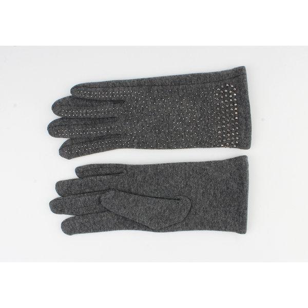 """Handschoen """"Caja"""" grijs"""