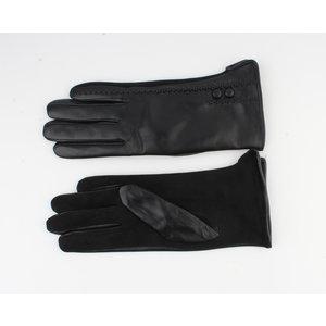"""Handschoen """"Canelle"""" zwart"""