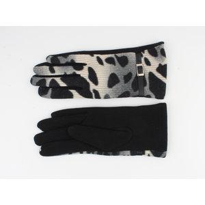 """Gloves """"Cedar"""" black / gray"""