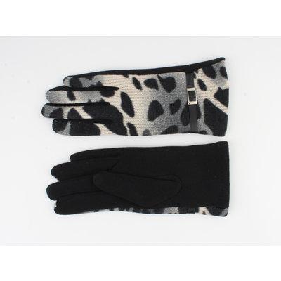 """Handschoen """"Ceder"""" zwart/grijs"""