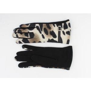 """Gloves """"Cedar"""" black / green"""