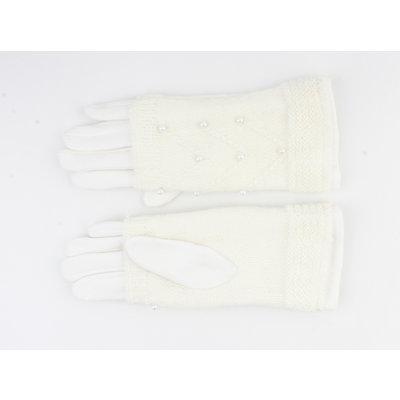 """Gloves """"Clover"""" white"""