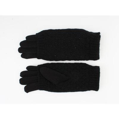 "Gloves ""Caroun"" black"