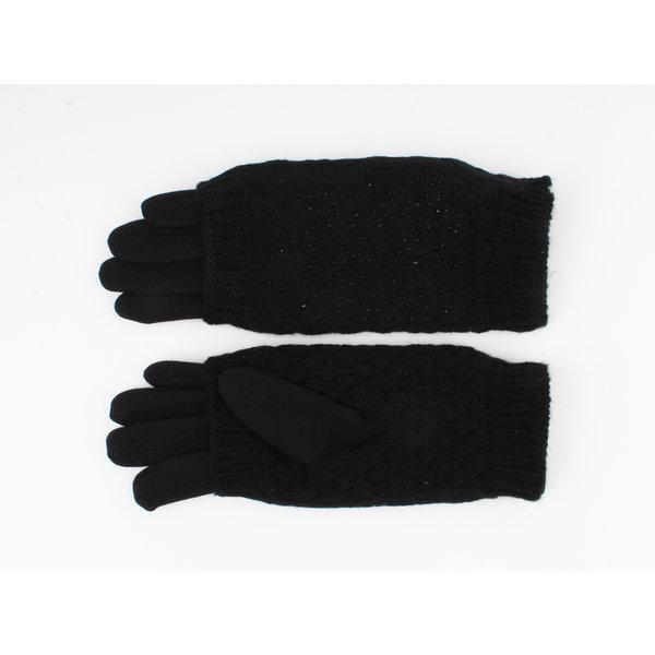 """Handschoen """"Caroun"""" zwart"""