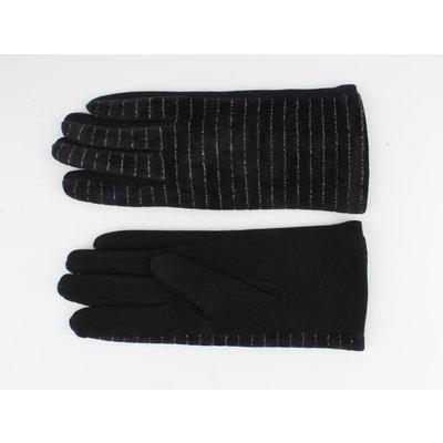"""Gloves """"Carnelian"""" black"""