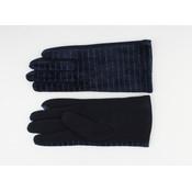 """Gloves """"Carnelian"""" blue"""