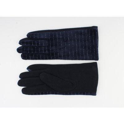 """Handschoen """"Carnelian"""" blauw"""
