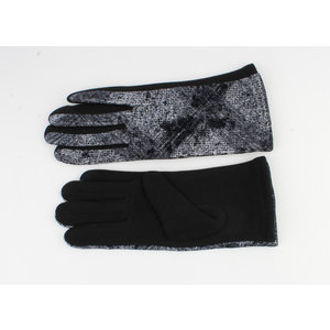 "Gloves ""Chablis"" black / gray"