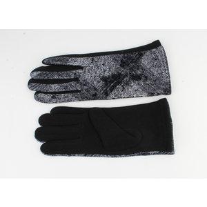 "Handschuhen ""Chablis"" schwarz / grau"