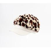 """Balloon cap """"Daisy"""" cream brown"""