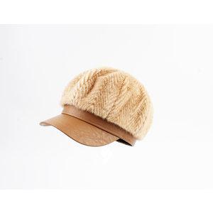 "Balloon cap ""Isla"" light brown"