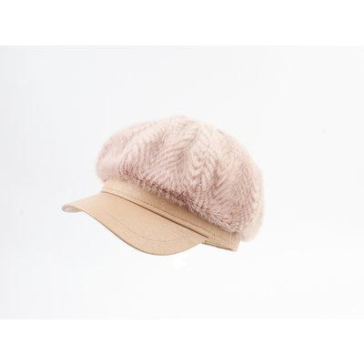 "Balloon cap ""Isla"" old pink"
