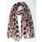 "sjaal ""Giada"" roze/bruin"