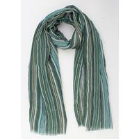 """Sjaal """"Heather"""" groen/blauw"""