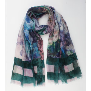 """Scarf """"Natales"""" green"""