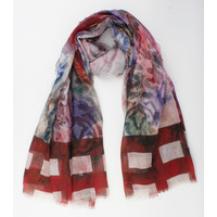 """Scarf """"Natales"""" red"""