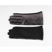 """Handschoenen """"Dinero"""" zwart/grijs"""