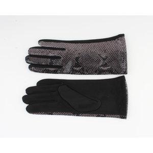 """Gloves """"Dinero"""" black / gray"""