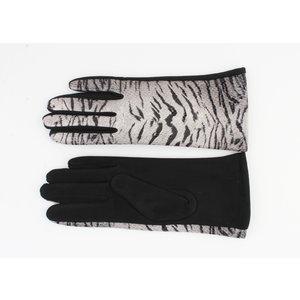 "Gloves ""Delgada"" black / gray"