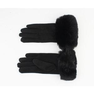 """Handschoenen """"Gregorio"""" zwart"""