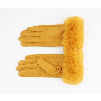 """Gloves """"Aiden"""" ocher"""