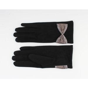 """Gloves """"Verde"""" black / gray"""