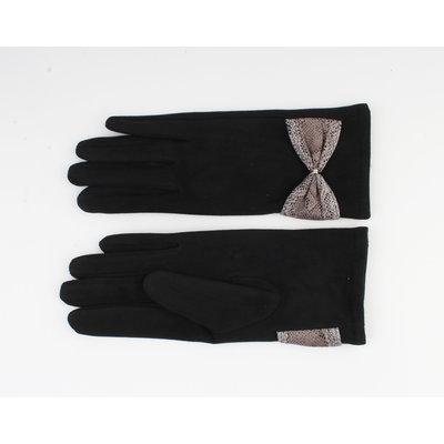 "Handschuhe ""Verde"" schwarz / grau"