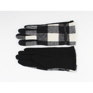 """Gloves """"Vince"""" black / white"""