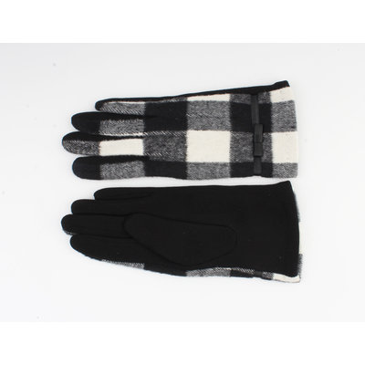 "Gloves ""Vince"" black / white"
