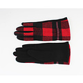 """Gloves """"Vince"""" black / red"""