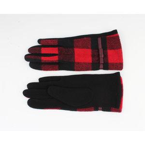"""Handschoenen """"Vince"""" zwart/rood"""
