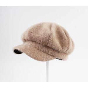 """Balloon cap """"Fiscal"""" light brown"""
