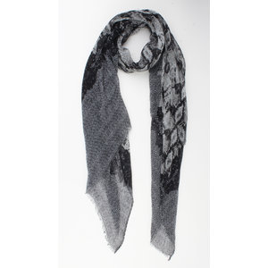 "Scarf ""Aoife"" gray"