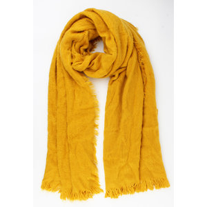 """Scarf """"Abiageal"""" yellow"""