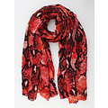 """Scarf """"Lelie"""" red"""