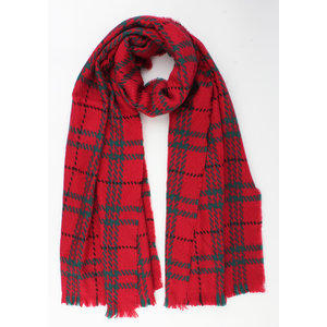 "Scarf ""Cham"" red"