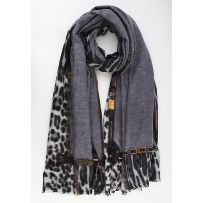 "Scarf ""Clemens"" gray"