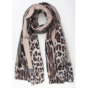 "Scarf ""Clemens"" taupe"