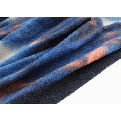 "Schal ""Primavera"" blau"