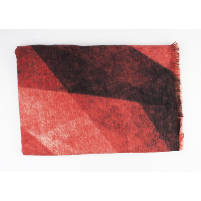 "Scarf ""Chloë"" red"