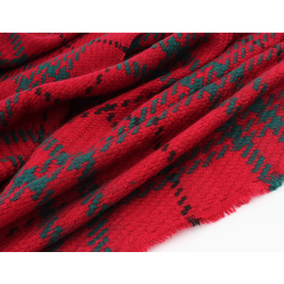 """Scarf """"Cham"""" red"""