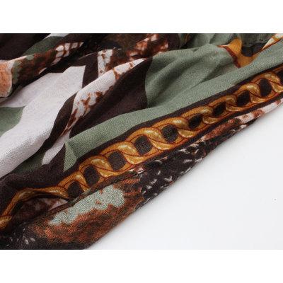 """Sjaal """"Morris"""" groen"""