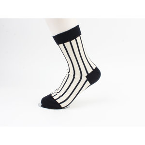 "Socks ""Jax"" cream black"