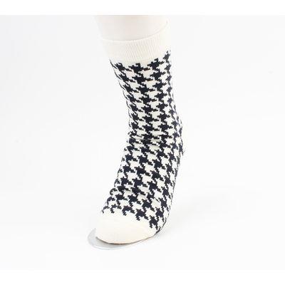 "Socken ""Ryan"" creme / schwarz"