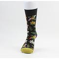 "socks ""Fleur"" green"