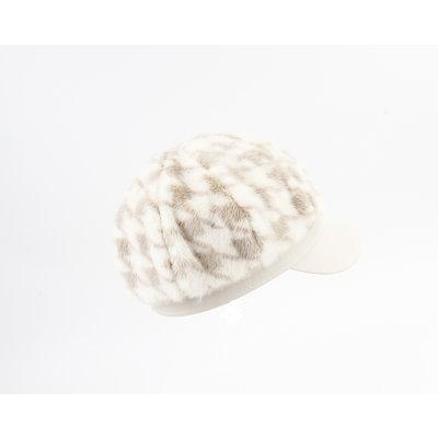 """Balloon cap """"Dawn"""" cream / sand"""