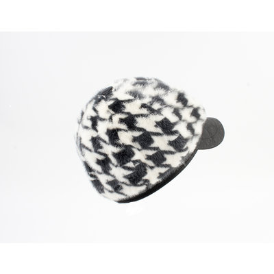 "Balloon cap ""Dawn"" black / cream"