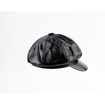 """Ballonpet """"Dafne"""" zwart lak"""