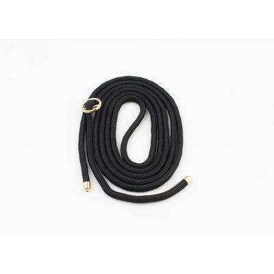Koordje voor telefoonhoes, zwart (3st.)