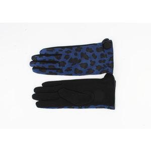 "Gloves ""Mercedes"" blue"